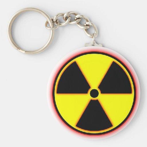 ¡Arma nuclear enemiga entrante! Llavero Redondo Tipo Pin
