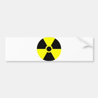 Arma nuclear etiqueta de parachoque