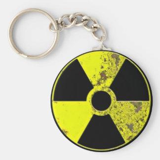 Arma nuclear llavero redondo tipo pin
