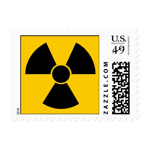Arma nuclear negra sellos
