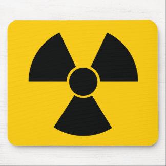Arma nuclear negra tapete de ratón