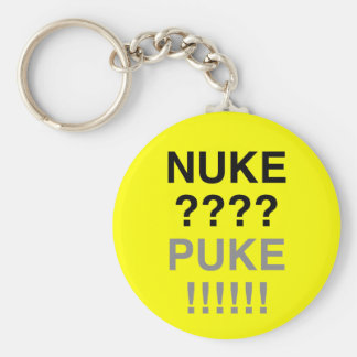 ¿Arma nuclear? ¿Puke? Llavero