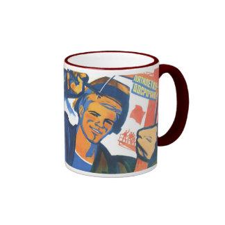 Arma nuclear rusa de URSS los E.E.U.U. de la propa Tazas De Café