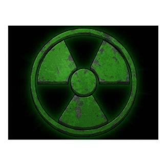 Arma nuclear verde postales
