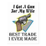 Arma para la esposa postal
