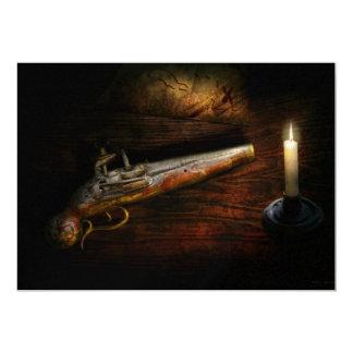 Arma - pistola - romance de pirateering comunicado