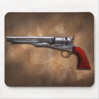 Arma - revólver 1860 del ejército del modelo alfombrillas de raton