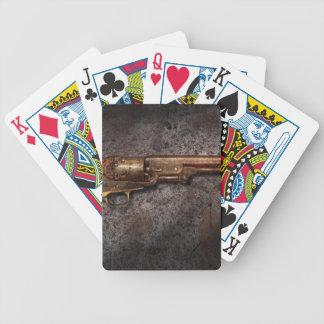 Arma - revólver del calibre del modelo 1851 - 36 cartas de juego