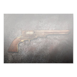 Arma - revólver del calibre del modelo 1851 - 36 invitacion personal