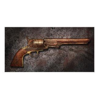 Arma - revólver del calibre del modelo 1851 - 36 tarjetas personales