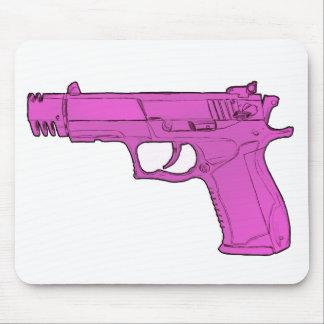 Arma rosado Mousepad