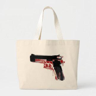Arma sangriento bolsa de mano