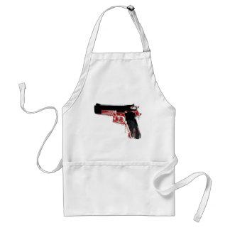 Arma sangriento delantales