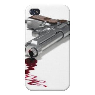 Arma sangriento iPhone 4 cobertura