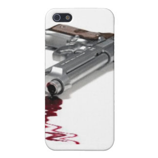 Arma sangriento iPhone 5 carcasa