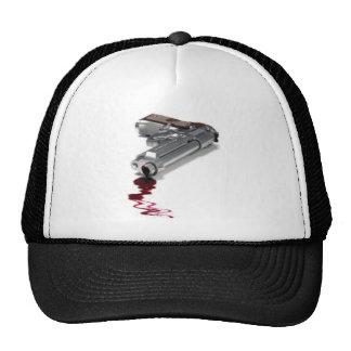 Arma sangriento gorras de camionero