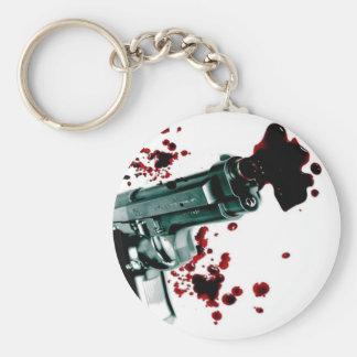 Arma sangriento II Llavero Personalizado