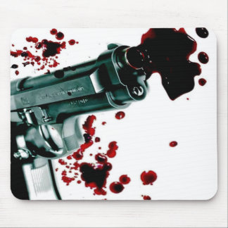 Arma sangriento II Tapetes De Ratones