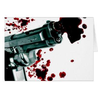 Arma sangriento II Felicitacion