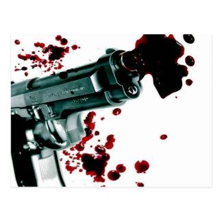 Arma sangriento II Tarjetas Postales