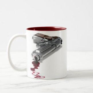 Arma sangriento taza