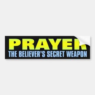 Arma secreta: Rezo Pegatina Para Auto