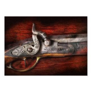 Arma - trabajos del rifle invitación personalizada