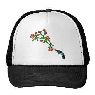 Arma y flor de las flores gorras