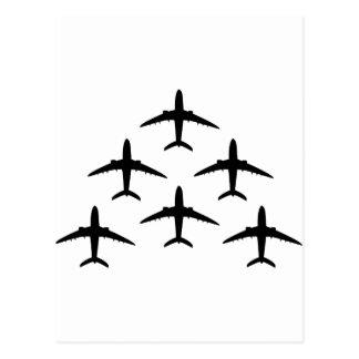 armada del aeroplano tarjetas postales