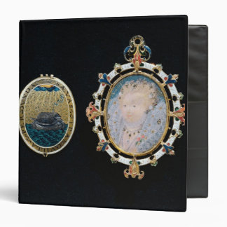 Armada Jewel, miniature of Queen Elizabeth I enclo Binder