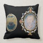 Armada Jewel, miniature of Queen Elizabeth I enclo Pillow