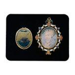 Armada Jewel, miniature of Queen Elizabeth I enclo Vinyl Magnet