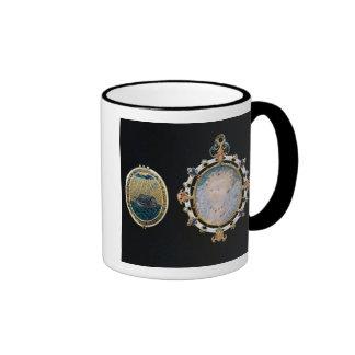 Armada Jewel, miniature of Queen Elizabeth I enclo Ringer Coffee Mug
