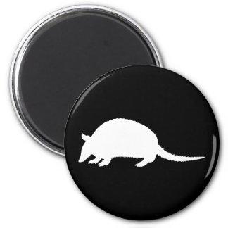 Armadillo 2 Inch Round Magnet