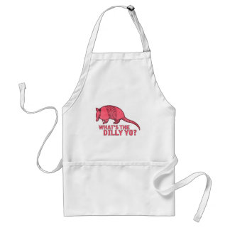 Armadillo Adult Apron