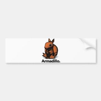 Armadillo Armadillo. Bumper Sticker
