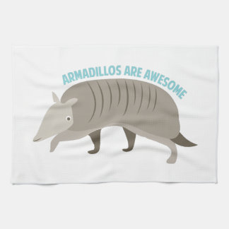 Armadillo_Armadillos_Are_Awe Hand Towels