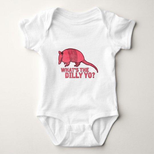 Armadillo Baby Bodysuit