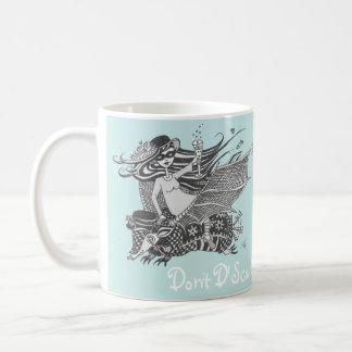 Armadillo Bat, Caribbean Sea Green, Living Dreams Coffee Mug