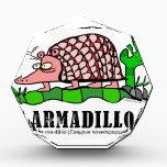 """Armadillo by Lorenzo Award<br><div class=""""desc"""">Fun armadillo created by Italian artist,  Lorenzo Traverso,  from Genoa.</div>"""