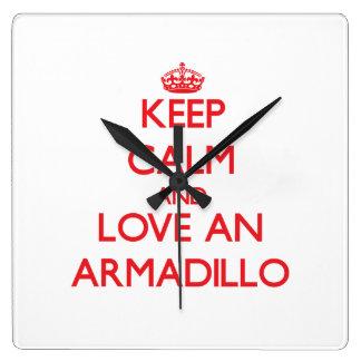 Armadillo Wallclock