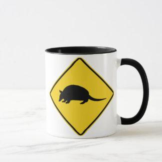 Armadillo Crossing Mug