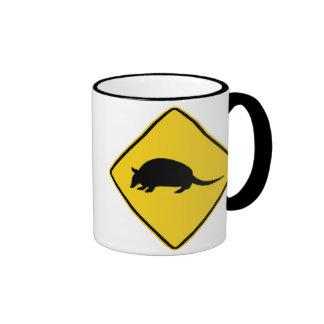 Armadillo Crossing Ringer Mug