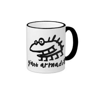 armadillo gigante taza de café