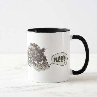 Armadillo goes meep by Mudge Studios Mug