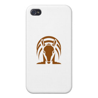 Armadillo Isolated Retro Cases For iPhone 4