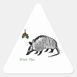 Armadillo Kiss Me Stickers