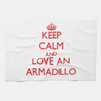 Armadillo Hand Towel