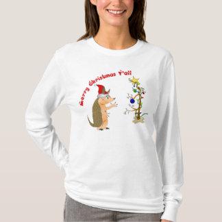 Armadillo Merry Christmas Shirt