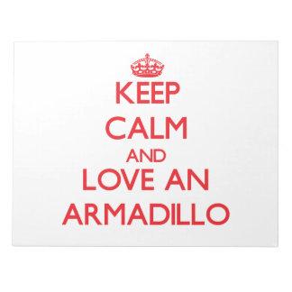Armadillo Note Pad